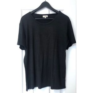 Wilfred Tops - Wilfred- Soft Black T-Shirt